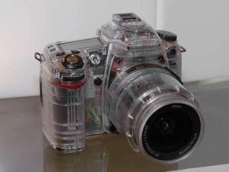 Transparent Cameras