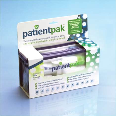 Personal Patient Hygiene Kits - PatientPak Keeps Germs At Bay During Hospital Stays
