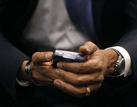 Presidential Mobile Phones - Barack Obama Keeps His Blackberry, With Security Enhancements