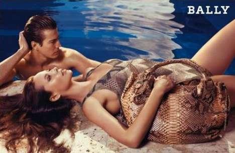 Poolside Fashion Campaigns