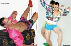 Hypercolor Male Fashion - 'The Bold and the Beautiful' Showcases Bright Spring Styles