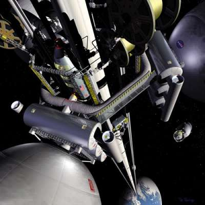 Elevators for Extraterrestrial Travel - Push-Button Access to Space Stations Now Plausible