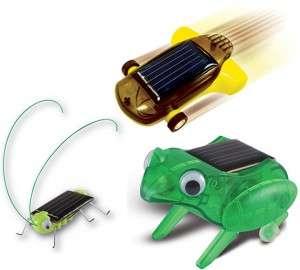 DIY Solar-Powered Robots