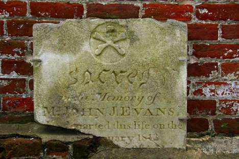 Swashbuckling Skull and Crossbones Headstones