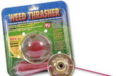 Robust Lawn Care Tools - The 'Weed Thrasher' Lets You Whack Weeds Wonderfully