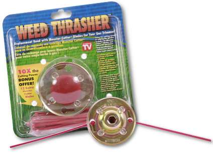 The 'Weed Thrasher' Lets You Whack Weeds Wonderfully