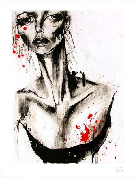 Female Vulnerability As Art