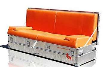 Portable Blow-Up Furniture - Sofa in a Box or Bag Lets You Take A Seat Wherever You Like