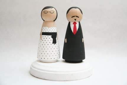 Personalized Wooden Dolls - Goose Grease Recreates Your Family Out of Wood