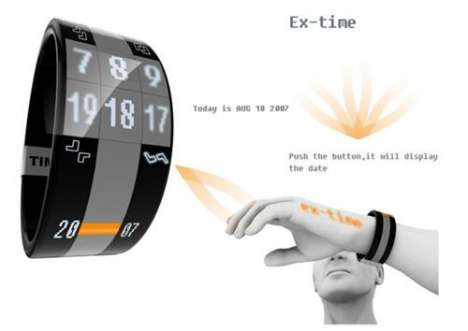 'Ex-Time' Displays Time Anywhere So You Can Feel Like Bond