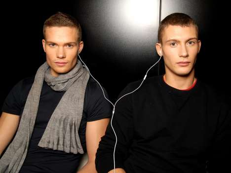 Dolce & Gabbana Men Uncensored Backstage at Fall 2009 Show