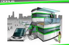 Stylish Pads on Wheels - Domus Mobile Compact Home Scores in Comfort and Mileage