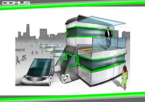 Domus Mobile Compact Home Scores in Comfort and Mileage