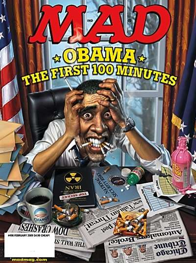 Political Cartoon Ethics - Drawing Obama Without Offending Or Being Boring Proves Tough
