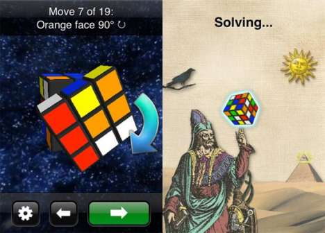 Cell Phone Puzzle-Solving - 'CubeCheater' iPhone App Solves Any Rubik's Cube