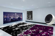 Striking Floor Decor - Embellish Your Home with HZL Arty Style and Luxury Rugs