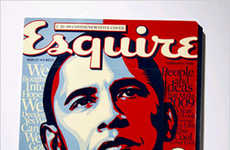 Obama Advent Calendars - Esquire Magazine's Obama Cover Opens To Show Ads