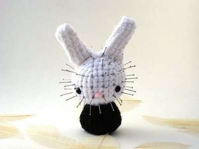 Pop Culture Icons as Bunnies - Amigurumi Knit Rabbits Inspired by Famous Horror Flicks