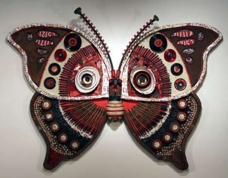 From Beer Can Butterflies to Garbage-Filled Chairs