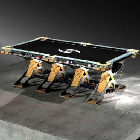 Futuristic Billiard Tables