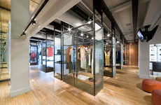Multitasking Retail Spaces - The Achilles Project is Restaurant, Art Gallery and Boutique