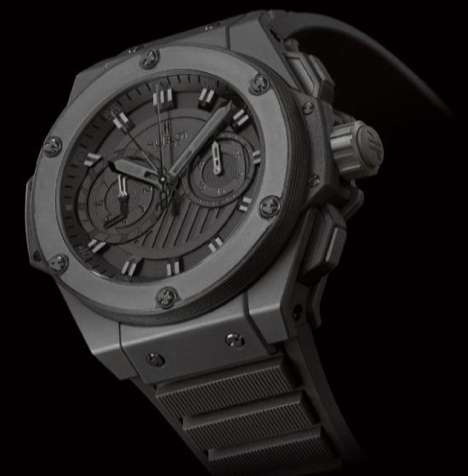 Macho Watches - Hublot's 'Big Bang King Power' is the Baddest Timepiece On the Block