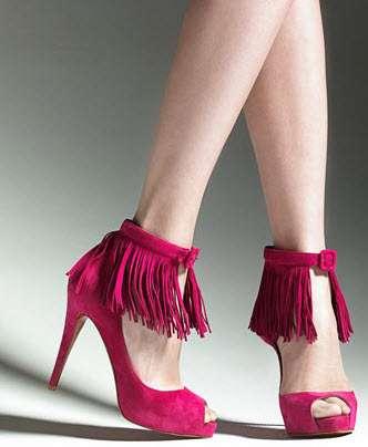 Fringed Heels