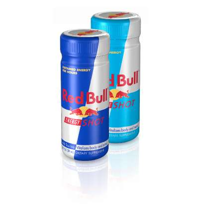 Red Bull Shots - Gulp-Sized Energy Jolts for Junkies On the Go