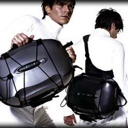 Shell-Inspired Backpacks - Personalized Isaburo City123 Rucksack is Perfect for Commuters