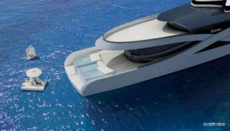 Transformer Yachts - C-Stream Yacht is Multifunctional Seafaring Fun