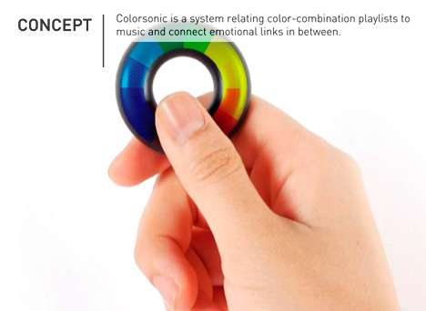 Color-Changing MP3 Players