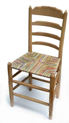 Woven Telephone Wire Seats