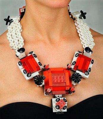 Giant LEGO Jewelry
