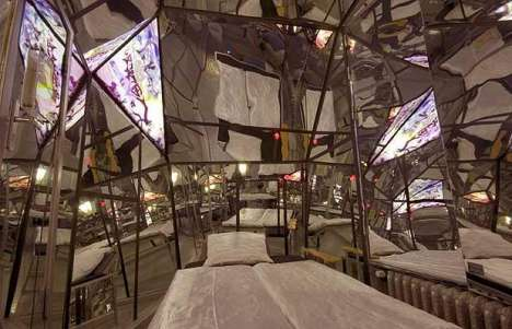 Bizarre Themed Hotel Rooms - Sleep in Coffins and Lion Cages At Berlin's Propeller Island