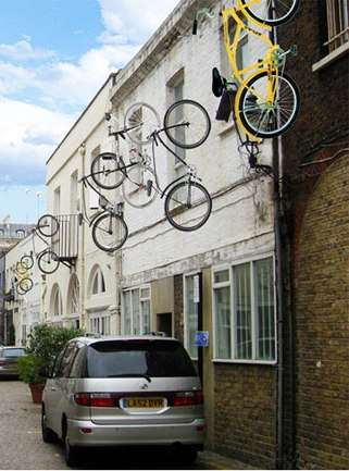 Levitating Bicycles