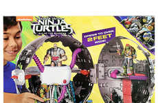 Turtle Warrior Fortresses - This Technodrome Playset is Great Accessory for TMNT Action Figures