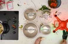Drone-Cooked Dinners - Autel Robotics Demonstrates How to Conveniently Cook a Thanksgiving Dinner