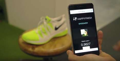 Shoe Recognition Apps - The 'Shoegazer' App Recognizes Shoes the Same Way Shazam Recognizes Music