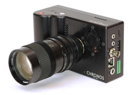 Blazing-Fast Photography Cameras - The 'Chronos 1.4' High-Speed Camera Captures Up to 21,600fps