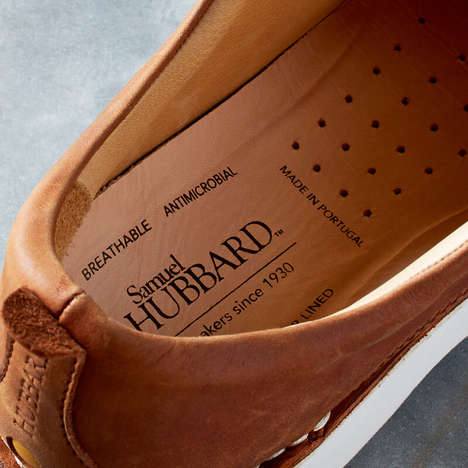 Comfort-Focused Walking Shoes - Samuel Hubbard Shoe Company Sells Stylish Shoes for Middle-Aged Men