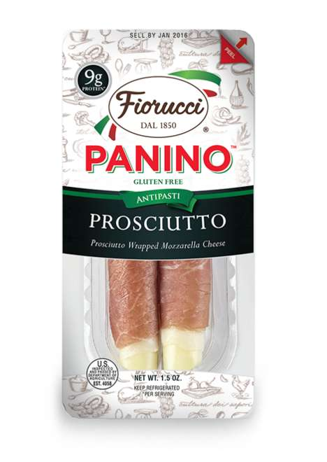 Meat-Wrapped Cheese Snacks - Fiorucci Foods' Meat and Cheese Snacks are Packaged for Portability