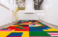 Geometric Carpet Installations