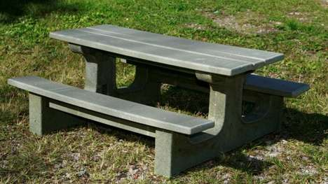 Recycled Coffee Capsule Tables