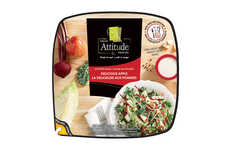 Convenience-Focused Salad Kits - The Fresh Attitude Chopped Salad Kits are for Busy Consumers