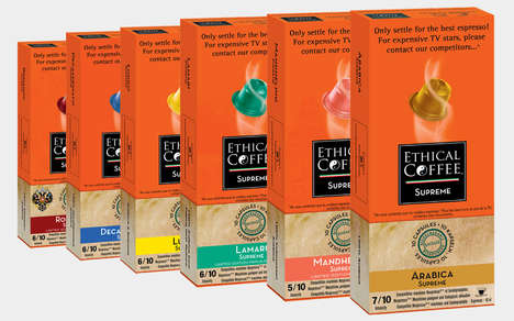 Biodegradable Coffee Capsules - The Ethical Coffee Company Biodegradable Coffee Capsules are Eco