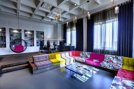 Textile-Centric Office Interiors