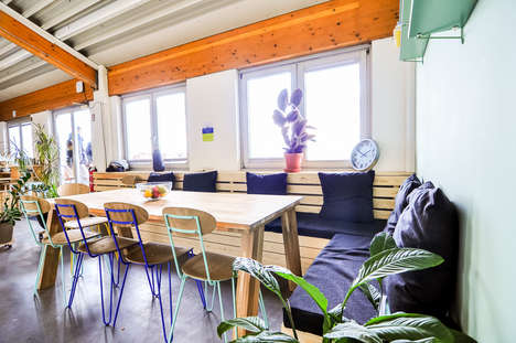Greenhouse-Themed Office Interiors