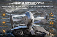Riverbank Energy Turbines
