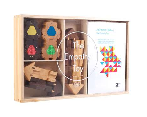 Empathy-Building Playsets - 'The Empathy Toy' Set for Kids is a Unique Family Puzzle Game