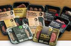 Prepackaged Exotic Meats - Highland Game's 'Outlanddish Meats' Include Ostrich, Buffalo and More